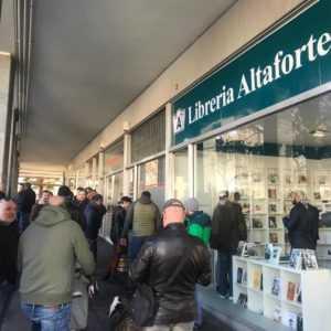 L'Avv. Mori attacca l'unione europe dagli scaffali della nuova libreria Altaforte